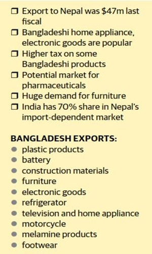 Nepal's growing market for Bangladeshi goods   Business   FT