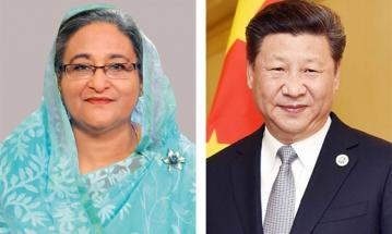 PM greets Chinese president Jinping