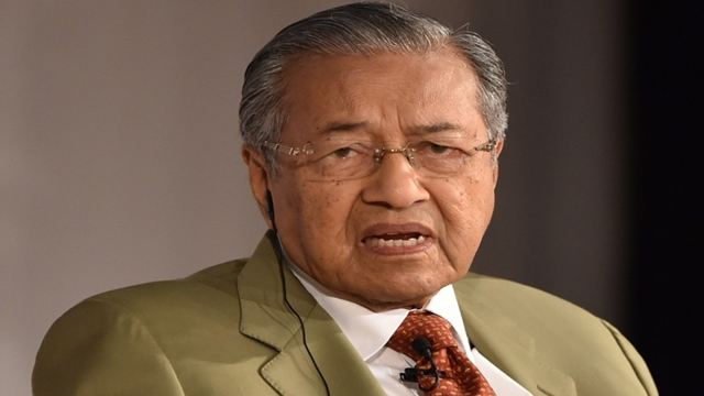 Malaysia's ex-PM Mahathir under investigation for fake news