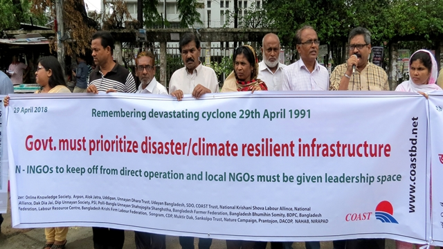 Affected people and community must be included in all stage of disaster management