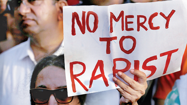 India approves death penalty for rape of girls under 12