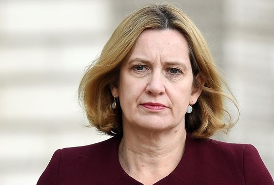 UK interior minister Amber Rudd resigns in blow to Theresa May