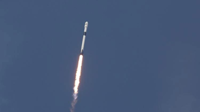 Bangabandhu-I on its way to orbit
