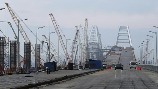 Putin to open mega bridge linking Crimea to Russia