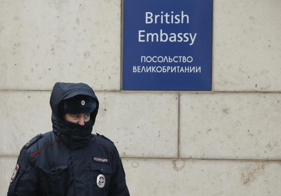 Russia expels 23 British diplomats in spy poisoning row