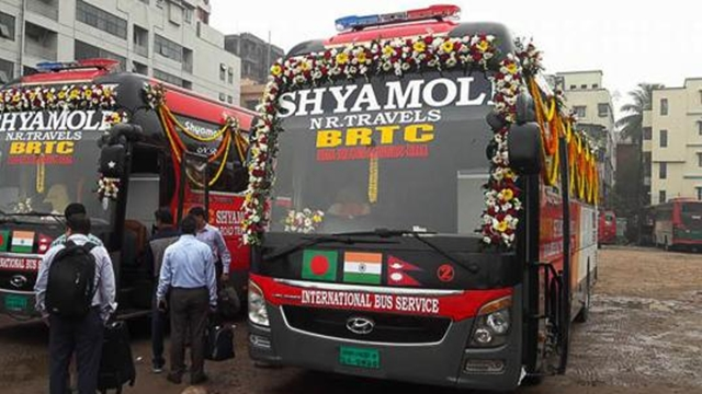 Trial run of Bangladesh-India-Nepal bus starts