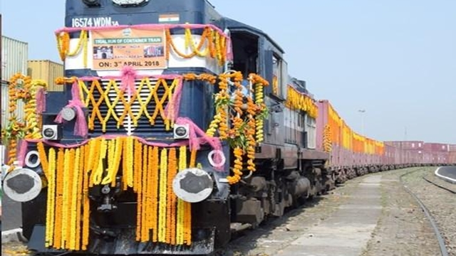 Dhaka, Kolkata launch first container train services