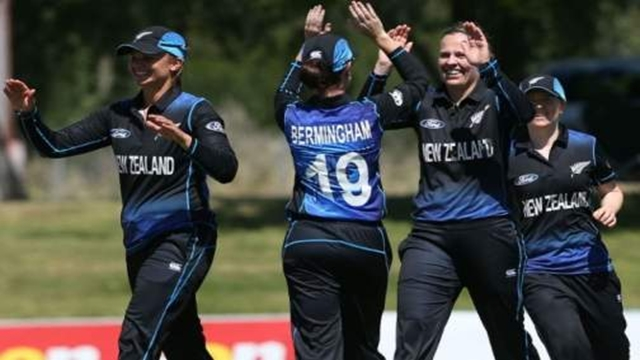 New Zealand women post new ODI record total of 490-4