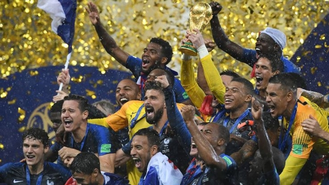 The next senior World Cup is in France, not Qatar