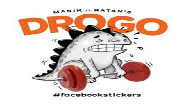 First Bangladeshi cartoonists' sticker on Facebook