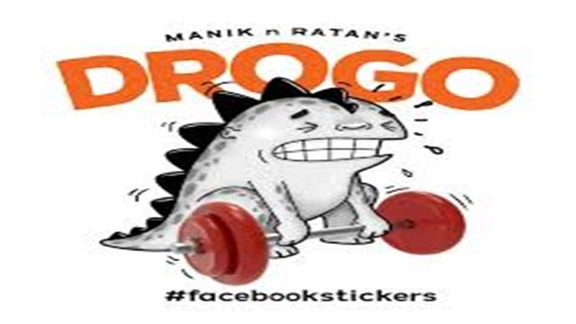 First Bangladeshi cartoonists' sticker on Facebook