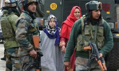 Pakistani firing kills five family members in Kashmir: India