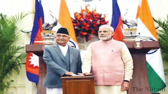 India pledges to expand rail, waterways to Nepal
