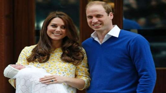 Prince William and Kate name baby son Louis Arthur Charles