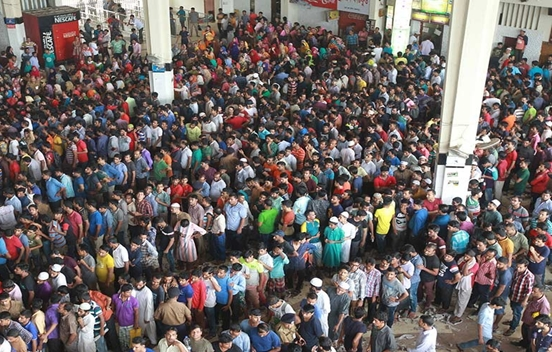 Railway begins advance Eid ticket sale