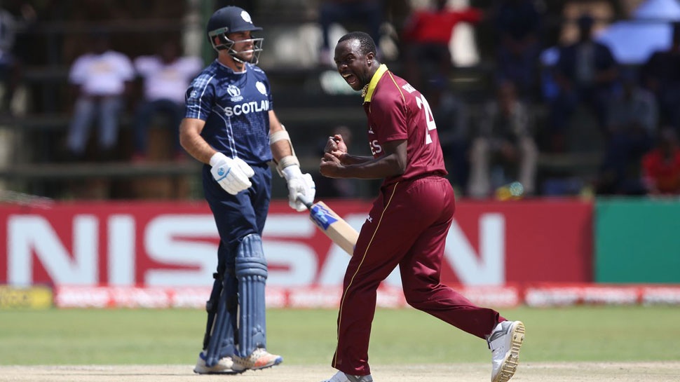 West Indies seal 2019 World Cup berth